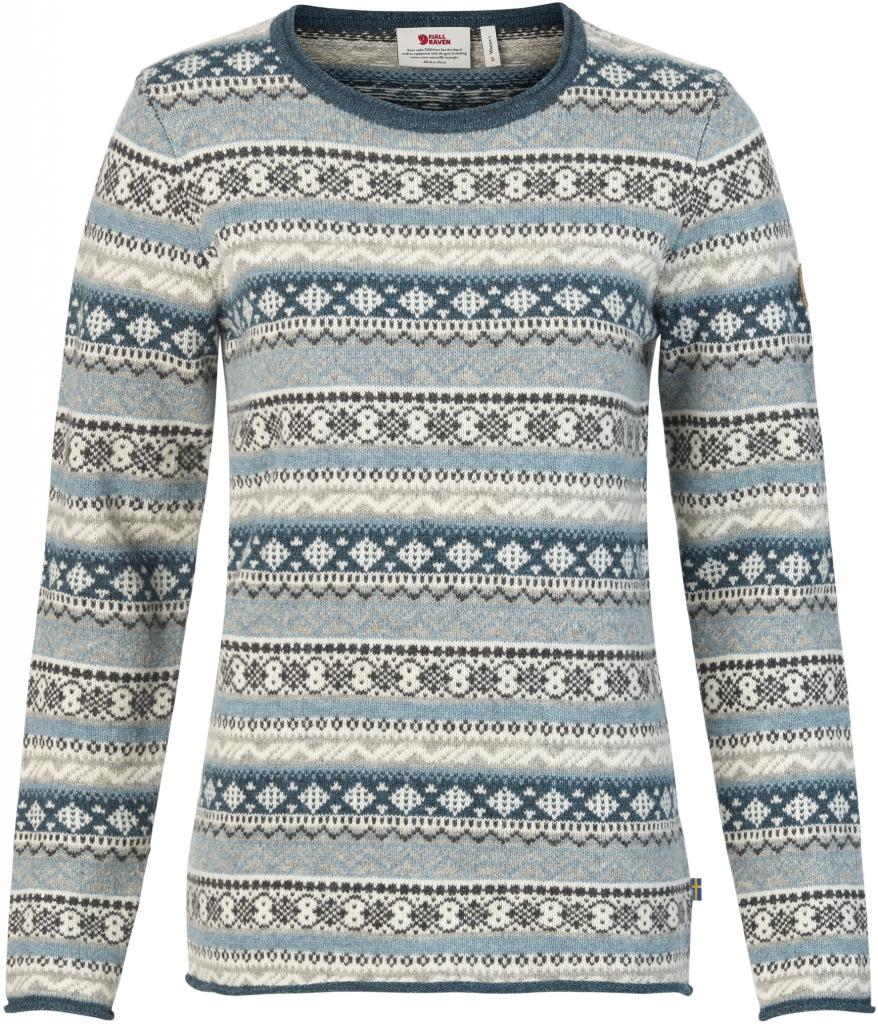 97bec57c Fjellreven Övik Folk Knit Sweater Dame hos Fjellrevenshop.no