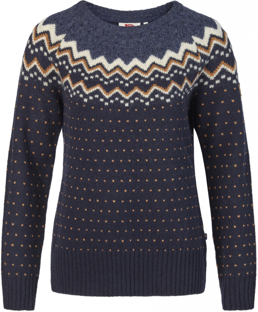 fjellreven Övik knit sweater dame - dark navy