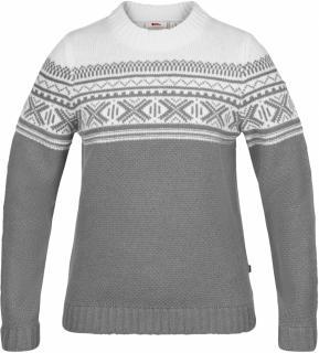 fjellreven Övik scandinavian sweater dame - grey