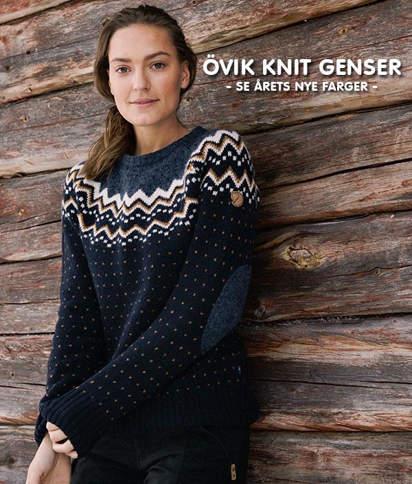 ovik knit genser dame — Fjellrevenshop