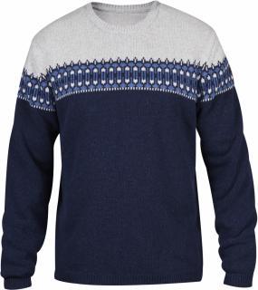 fjellreven Övik scandinavian sweater herre - dark navy