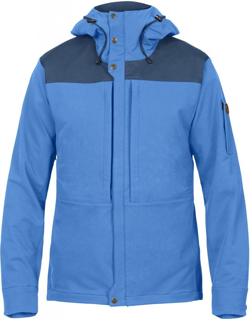 fjellreven keb touring jacket herre - un blue - uncle blue