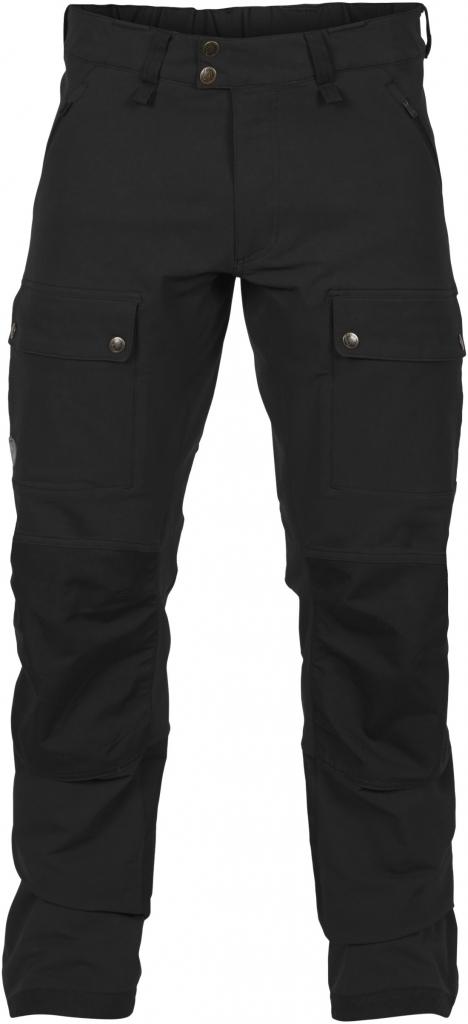 fjellreven keb touring trousers herre - black