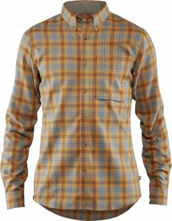 fjellreven stig flannel shirt - acorn