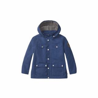 fjellreven kids greenland winter jacket - night sky
