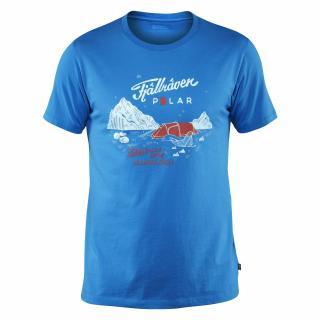 fjellreven fjällräven polar t-shirt herre - un blue