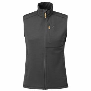 fjellreven keb fleece vest herre - dark grey - black