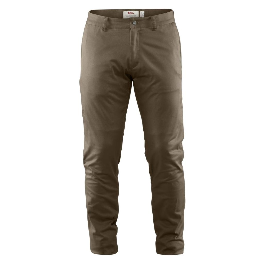 fjellreven high coast stretch bukse regular herre - khaki