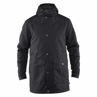 fjellreven greenland winter parka herre - black