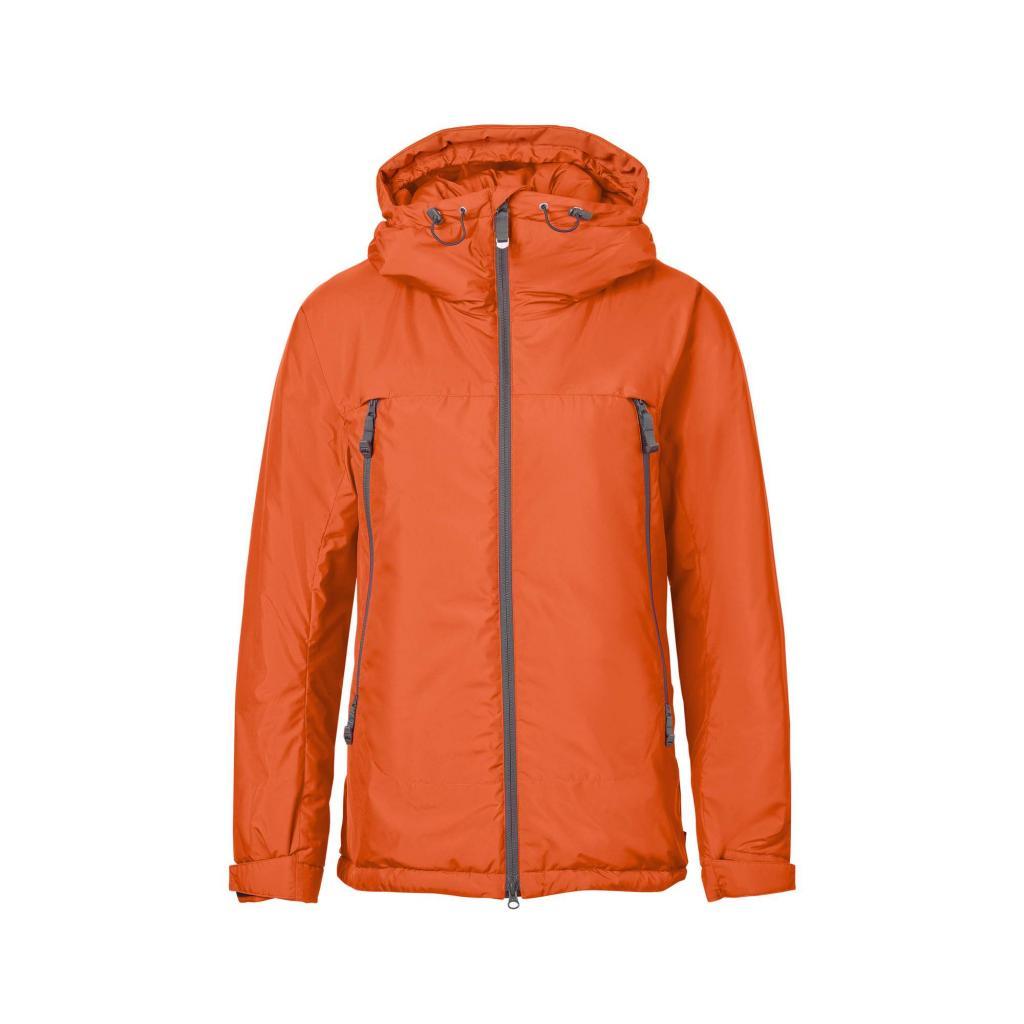 fjellreven bergtagen insulation jakke dame - hokkaido orange