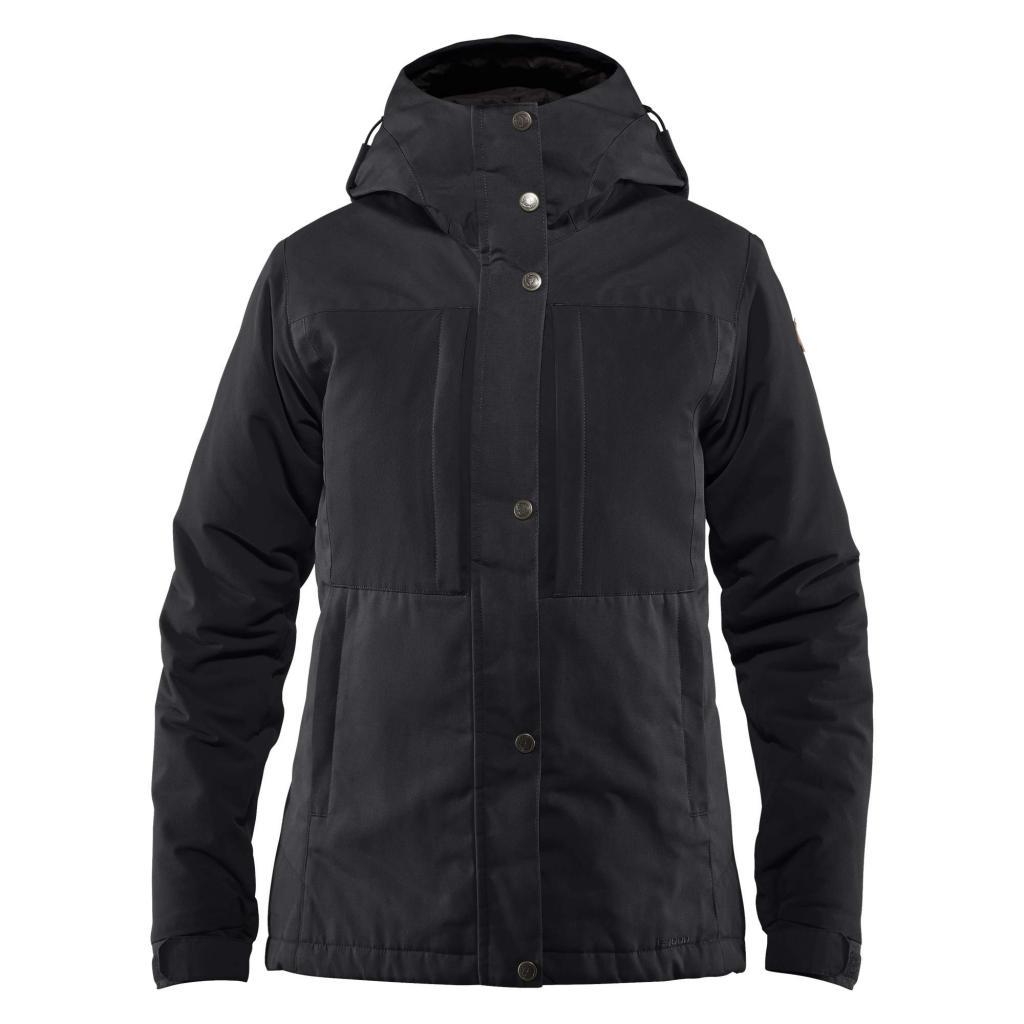 fjellreven Övik stretch padded jacket dame - black