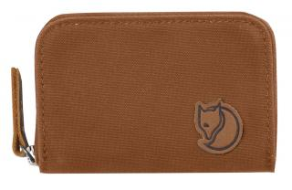 fjellreven zip card holder - chestnut