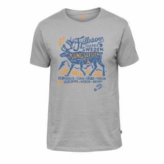 fjellreven classic swe t-shirt herre - grey