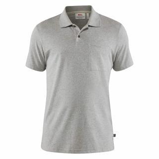 fjellreven greenland re-cotton polo shirt herre - grey