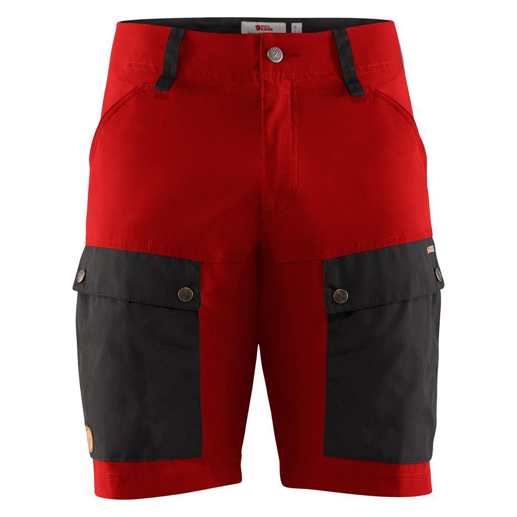 fjellreven keb shorts herre - stone grey - lava