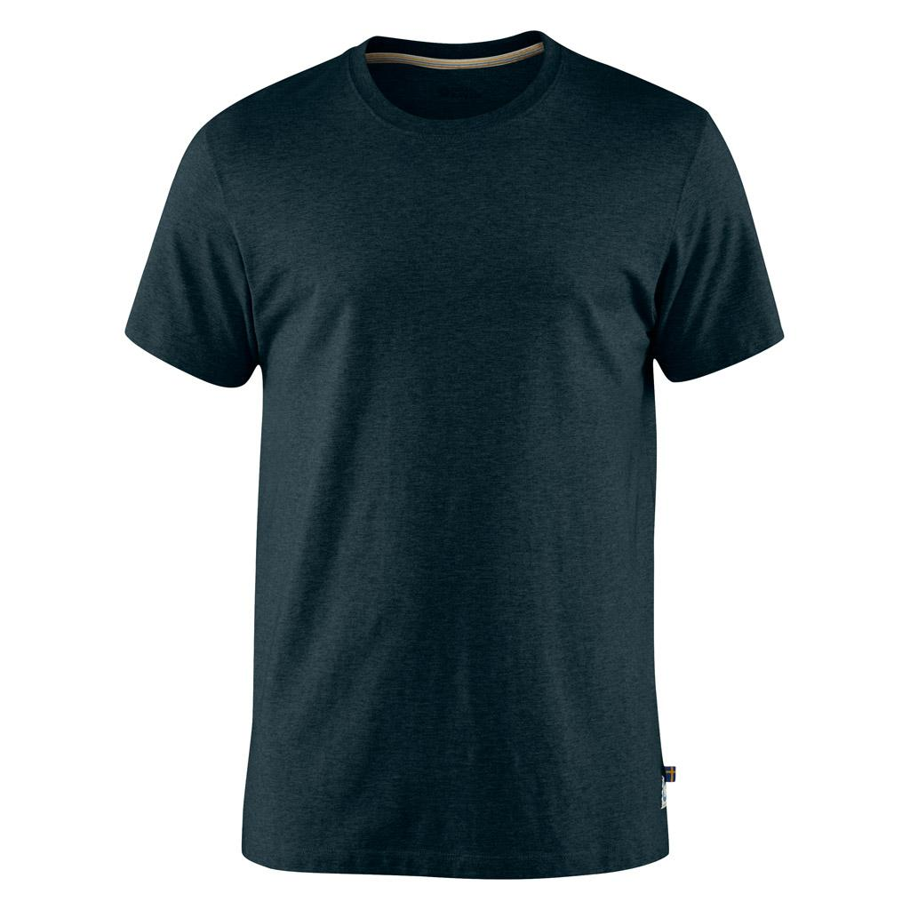 fjellreven greenland t-shirt ss herre - dark navy