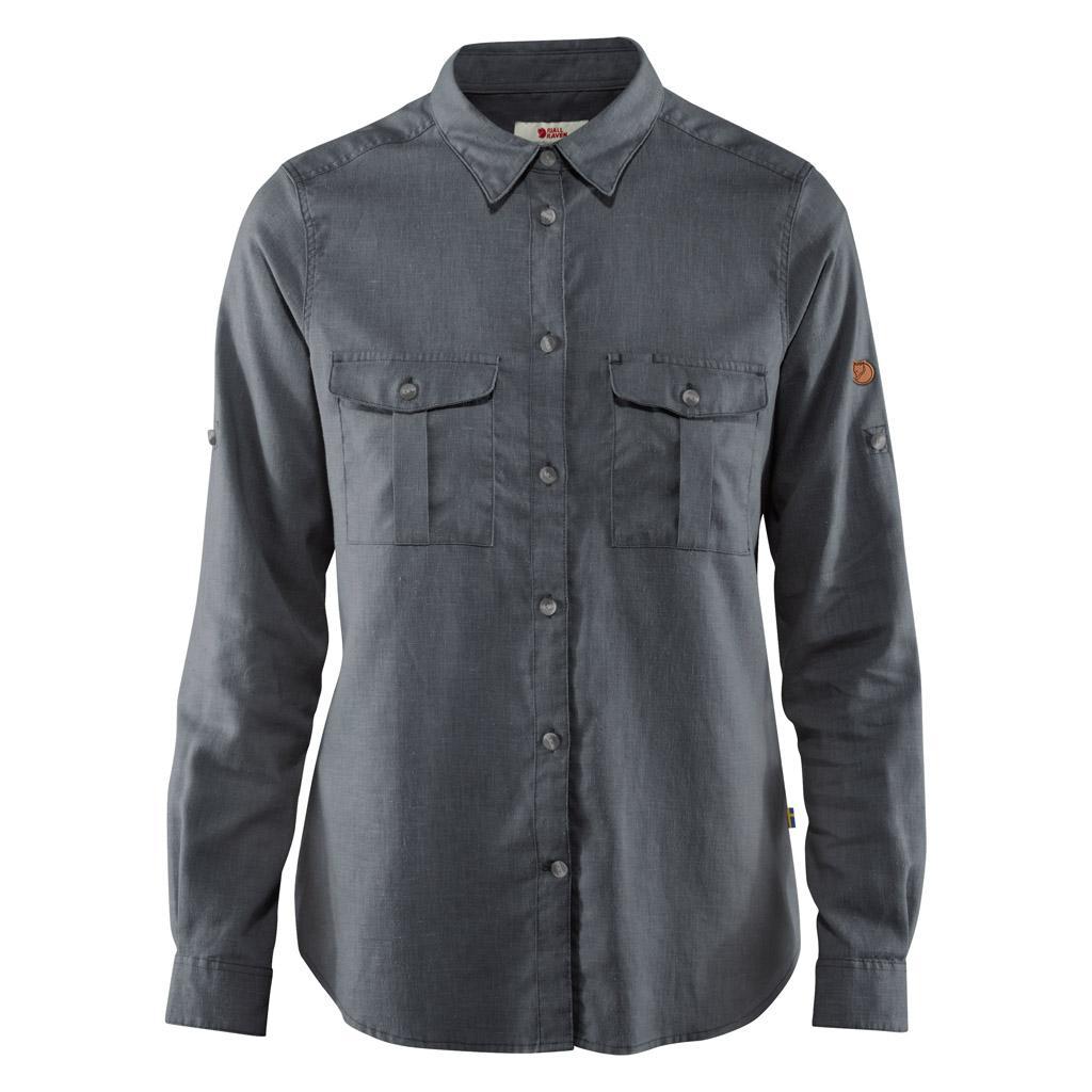 fjellreven Övik travel shirt ls dame - dusk