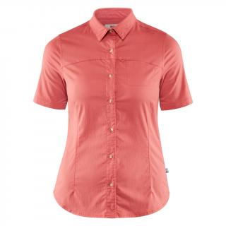 fjellreven high coast stretch shirt ss dame - dahlia