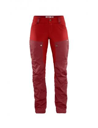 fjellreven keb bukse curved regular dame - ox red - lava