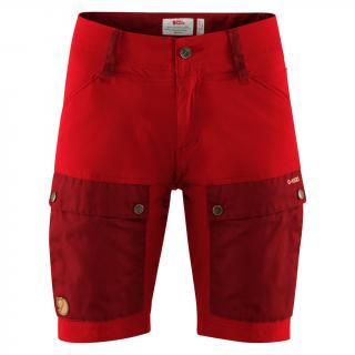 fjellreven keb shorts dame - ox red - lava