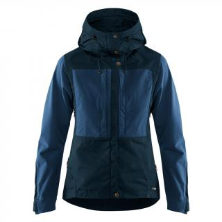 fjellreven keb jakke dame - dark navy - uncle blue