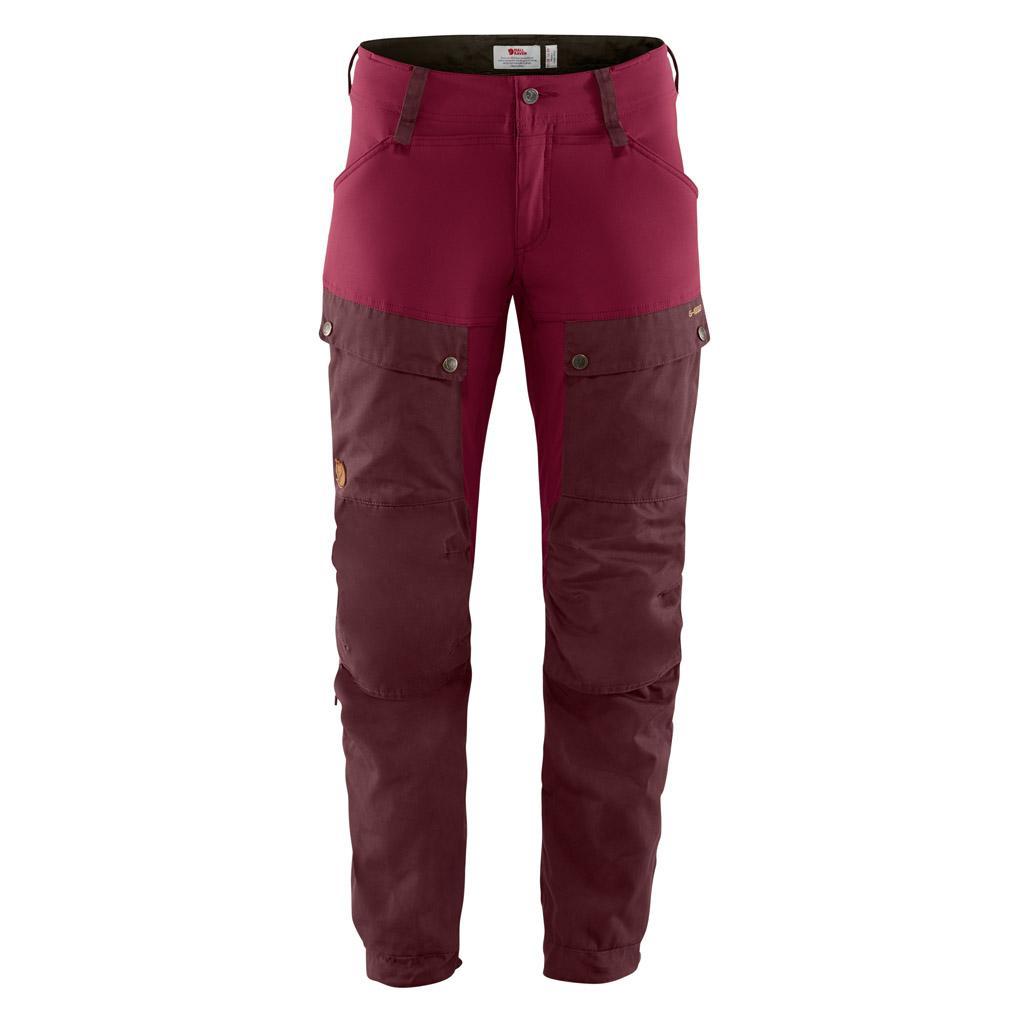 fjellreven keb bukse regular dame - dark garnet - plum