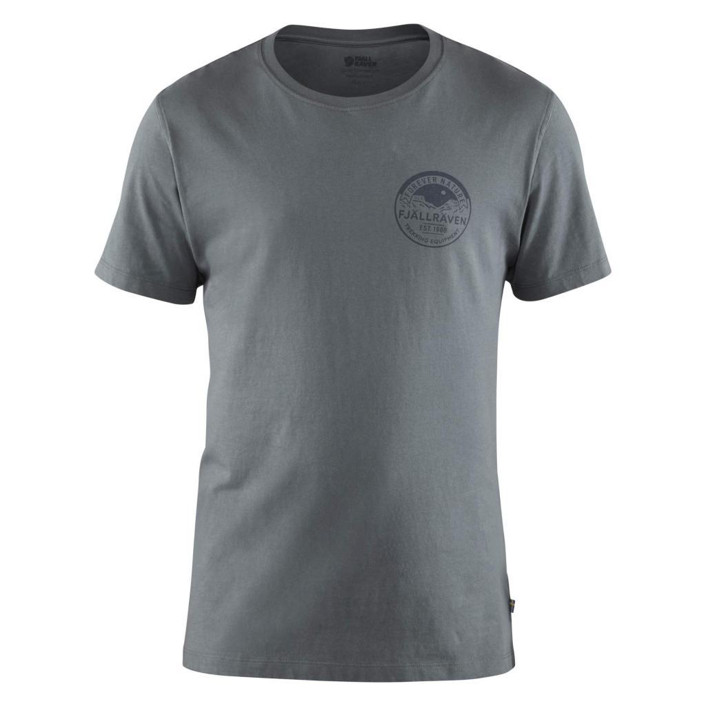 fjellreven forever nature badge t-shirt herre - dusk