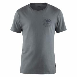 fjellreven forever nature badge t-shirt herre - dusk