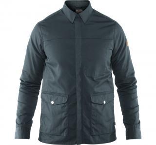 fjellreven greenland zip shirt jacket herre - dusk