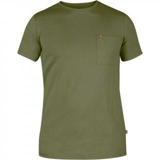 fjellreven Övik pocket t-shirt herre - green