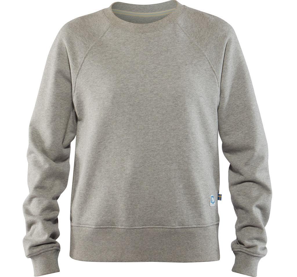 fjellreven greenland sweater dame - fog