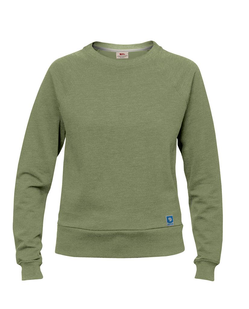 fjellreven greenland sweater dame - green