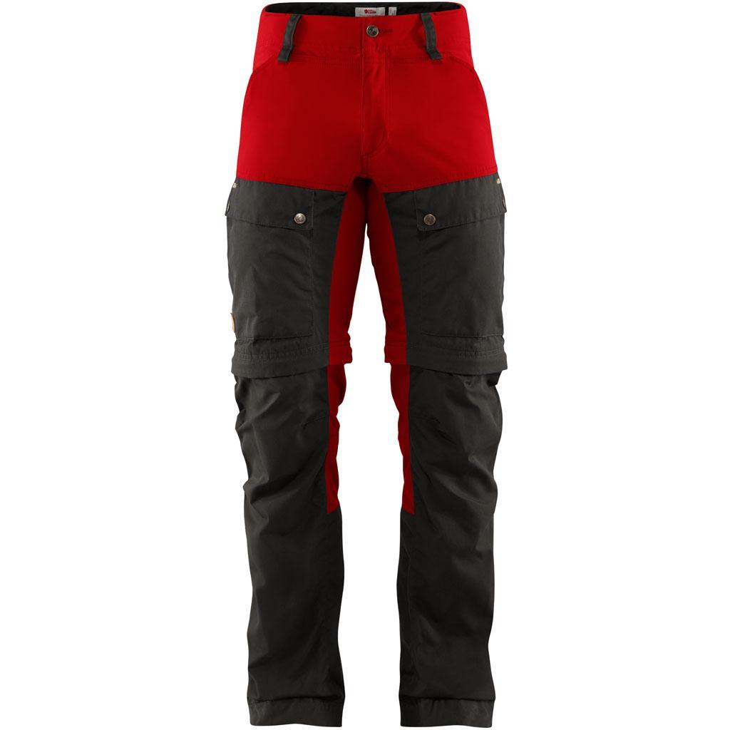 fjellreven keb gaiter trousers herre - stone grey - lava