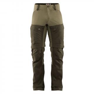 fjellreven keb gaiter trousers herre - deep forest - laurel green
