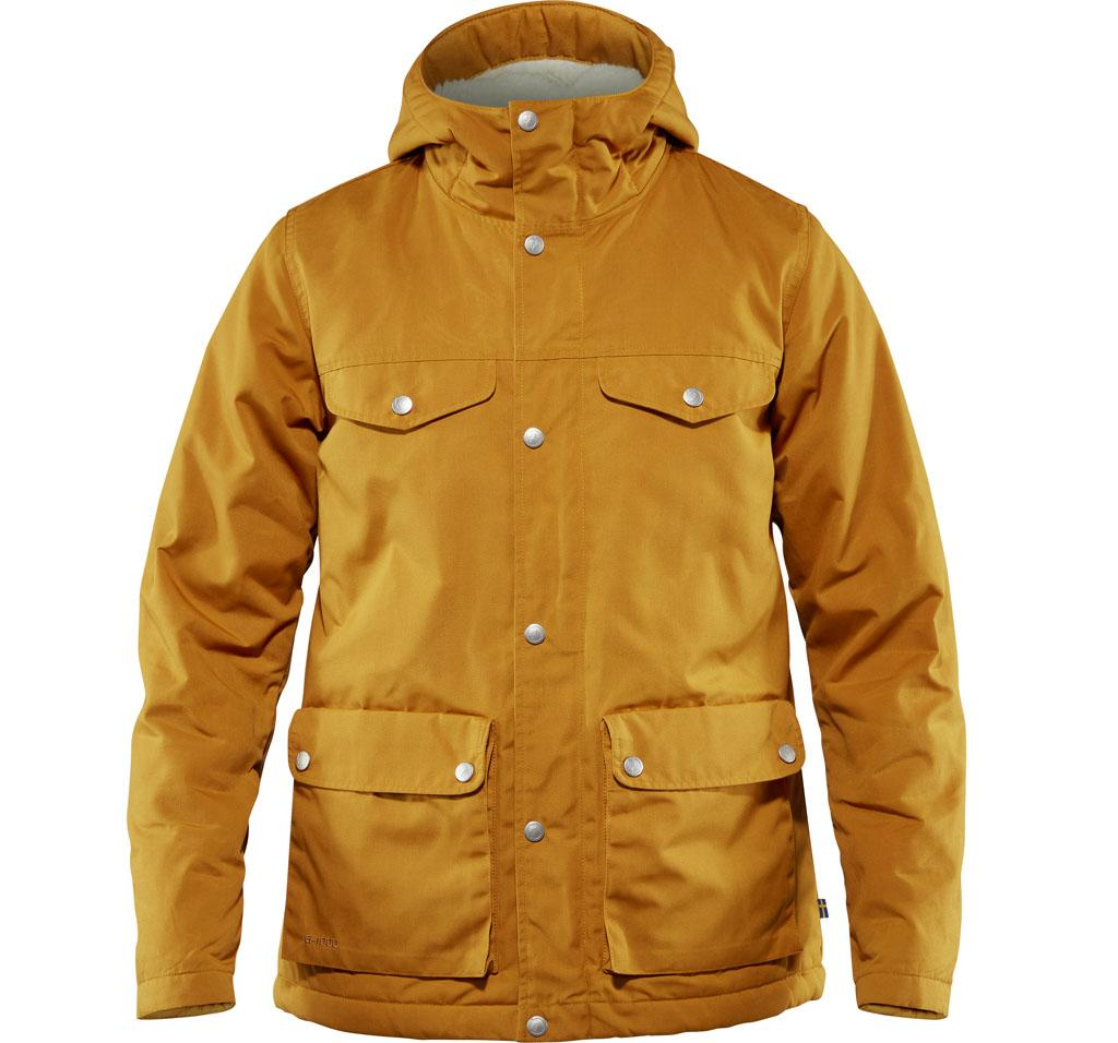 fjellreven greenland winter jacket dame - acorn