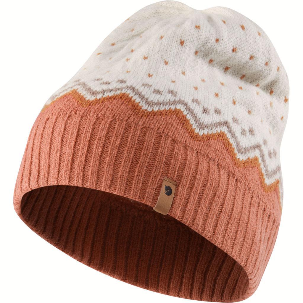fjellreven Övik knit lue - terracotta pink