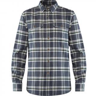 fjellreven Övik heavy flannel shirt herre - dusk