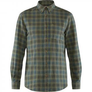 fjellreven kiruna flannel shirt herre - green