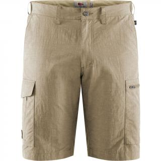 fjellreven travellers mt shorts herre - light beige