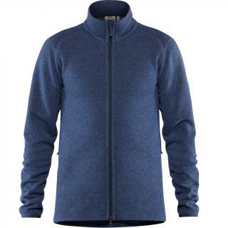 fjellreven high coast wool sweater herre - navy