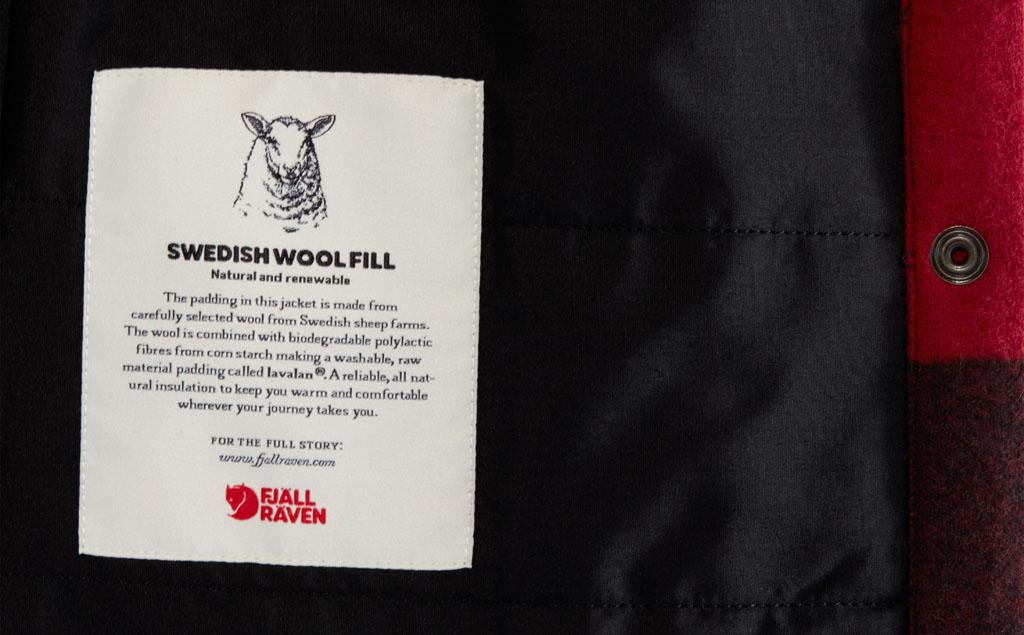 Fjellreven Canada Wool Padded Jakke Dame