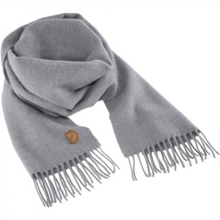 fjellreven solid re-wool scarf - grey