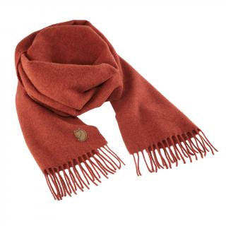 fjellreven solid re-wool scarf - autumn leaf