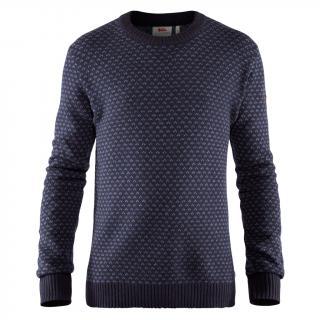 fjellreven Övik nordic sweater herre - dark navy