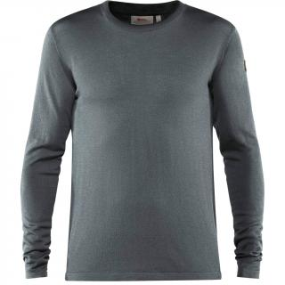 fjellreven high coast lite merino knit herre - thunder grey