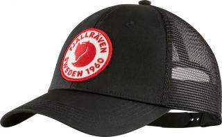 fjellreven 1960 logo långtradarkeps - black