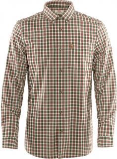 fjellreven Övik shirt ls herre - laurel green