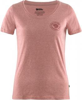 fjellreven 1960 logo t-shirt dame - raspberry red - melange