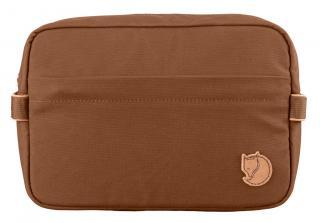 fjellreven travel toiletry bag - chestnut