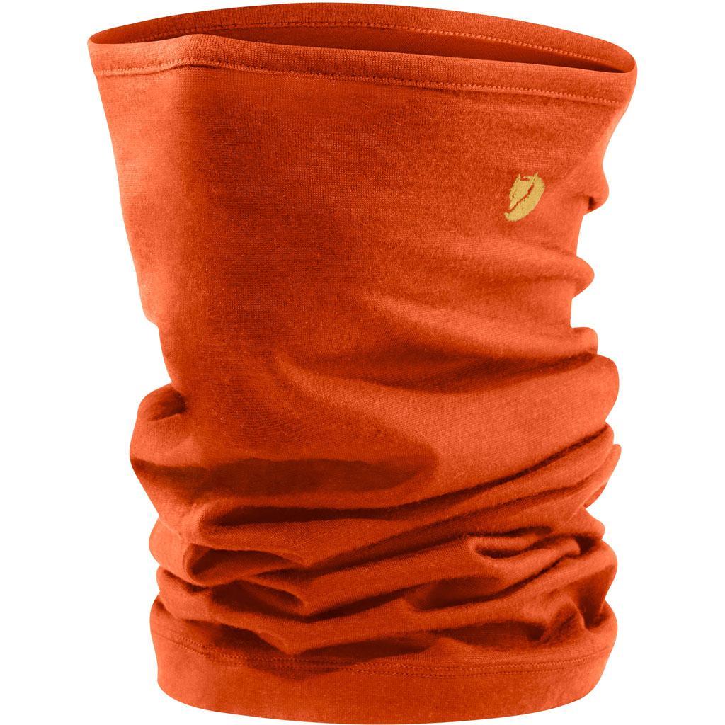 fjellreven bergtagen neck gaiter - hokkaido orange